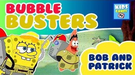 SpongeBob Squarepants - Bob & Patrick Dirty Bubble Busters - Full Gameplay - Online TV for Kids - HD