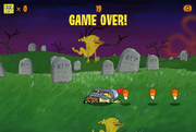 Ghost Slayer Game Over