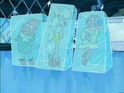 Frozen squidward