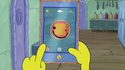SpongeBob Checks His Snapper Chat 08