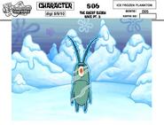 Ice Frozen Plankton