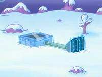 SpongeBob SquarePants Karen the Computer Frozen