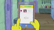 SpongeBob Checks His Snapper Chat 29