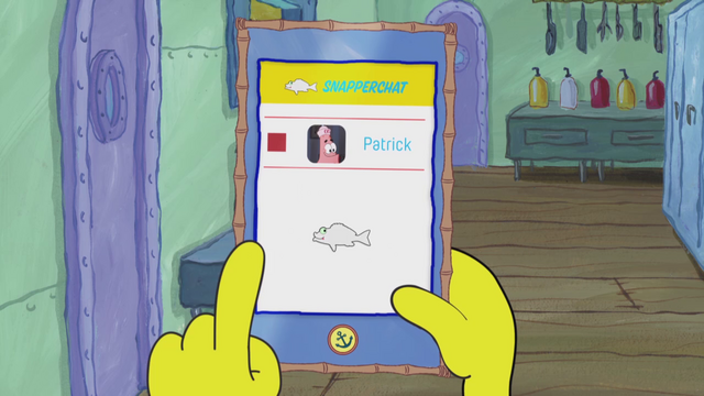 File:SpongeBob Checks His Snapper Chat 29.png