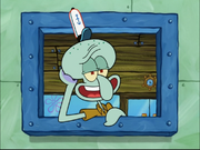 Squidward in InSPONGEiac-4