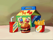 Close Up Of Kids Meal