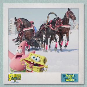 SpongeBob & Patrick Travel the World - Russia 1