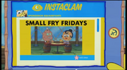 SpongeBob Checks His Instaclam 14