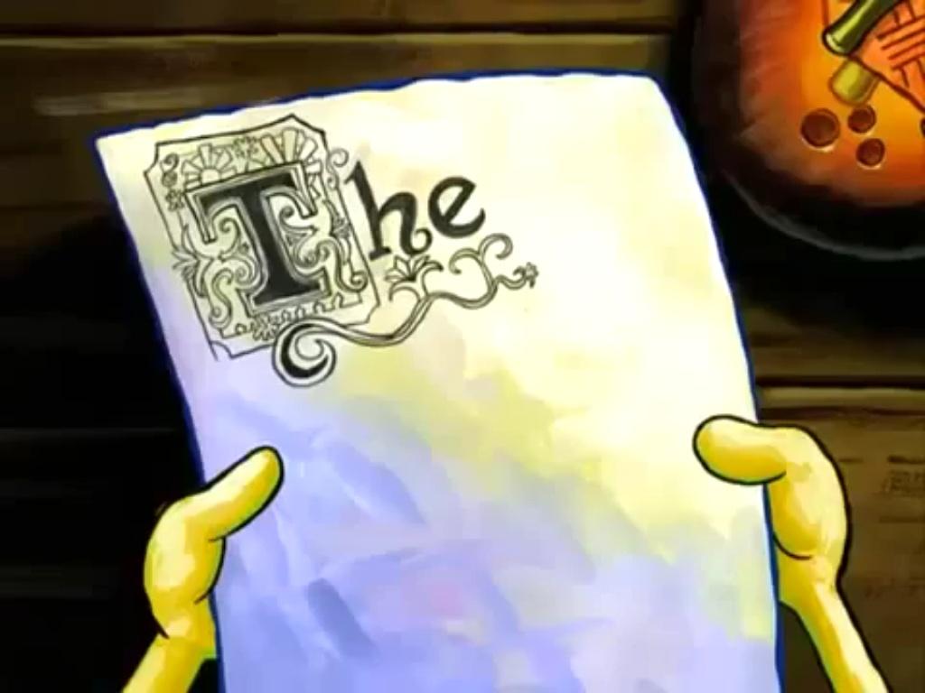 Spongebob The Essay