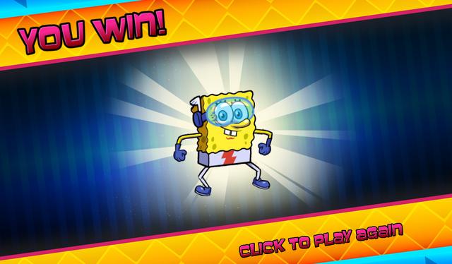 File:Bikini Bottom Brawlers SpongeBob as the Quickster you win.png