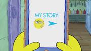 SpongeBob Checks His Snapper Chat 11