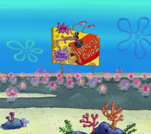 Barnacle Chips Billboard in Burst Your Bubble
