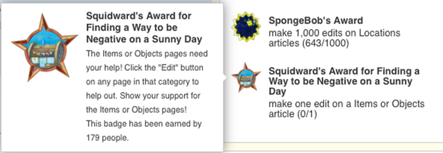 File:Squidward's Award for Finding a Way to be Negative on a Summy Day badge glitch.png