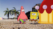 SpongeBob and Patrick in Shell City