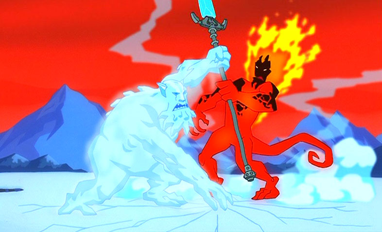 Frost Giant and Fire Giant | SpongeBob & Friends ...