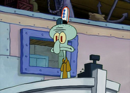 Squidward's Job