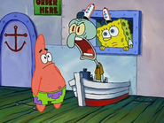 Spongebob, Patrick CAN YOU KEEP IT DOWN!??!?!?!