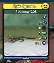 Half-Epic Sporepedia Card