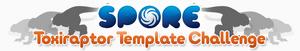 Toxiraptor Template Challenge