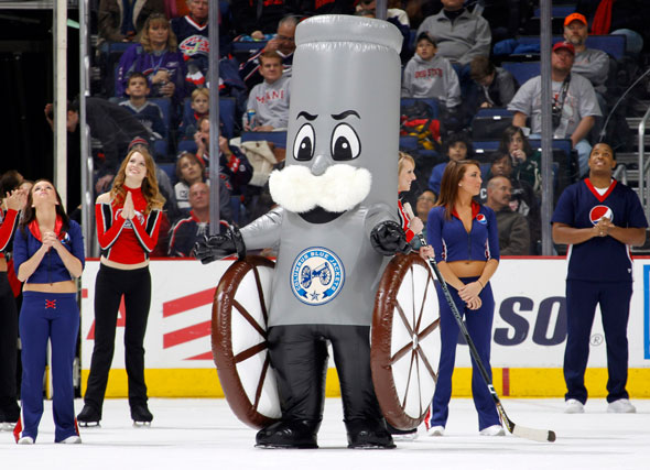 Boomer the Cannon (Columbus Blue Jackets) | SportsMascots Wikia