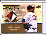 2008 UD Piece SS Gold Patch 36