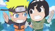 Lee racing Naruto
