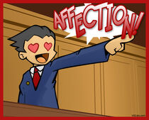 Phoenix Wright Affection