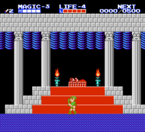 Legend of Zelda II Links Adventure North Palace