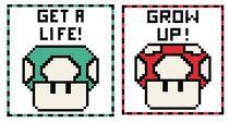 Mario Mushroom Patterns