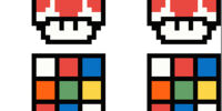 Rubik's Cube Mario
