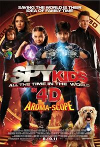 Spy Kids- All the Time in the World Poster