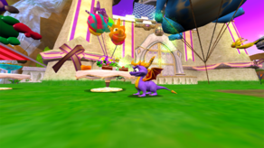 Spyro Sparx Enter the Dragonfly