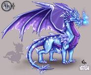 A DragonGuardian Ice