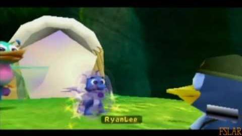 Spyro Year of the Dragon - 100% - Sgt Byrd's Base