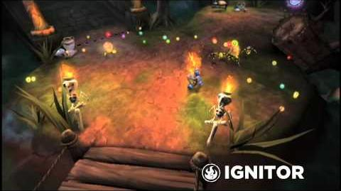 Skylanders Spyro's Adventure - Ignitor Trailer (Slash and Burn)