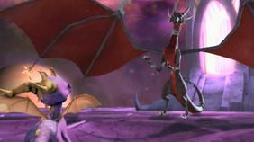 Spyro Evil Cynder
