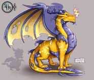 A DragonGuardian Electricity