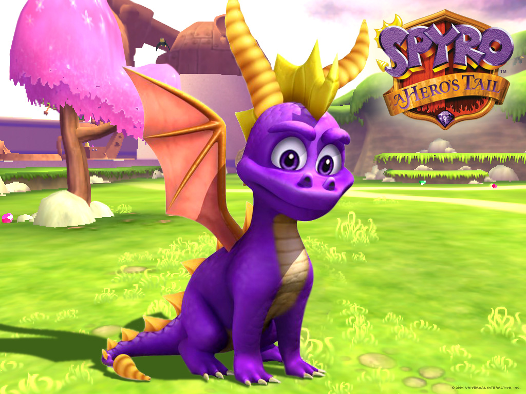 Image spyro the dragon desktop 1024x768 wallpaper 103203 - Spyro wallpaper ...