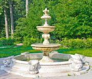 Ancient Fountain in Kuzminki Park