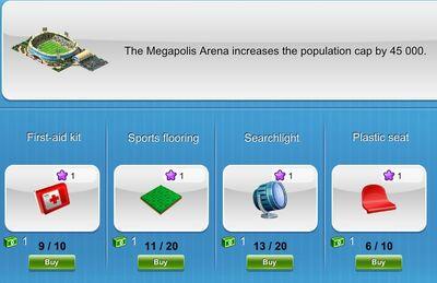 Megapolis arena part 3