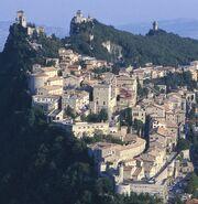 Three Towers of San Marino