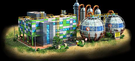 Gas Power Plant Artwork