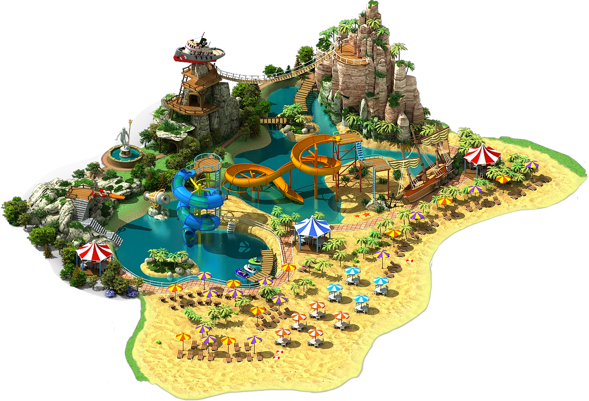 Image water park tourist island l3 megapolis for Design hotels wiki