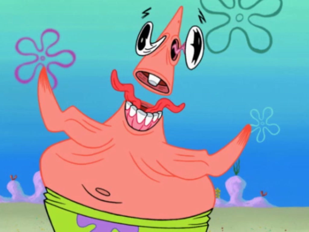 of Patrick and best friend Ugly Patrick Face