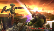 Link Congratulations Screen Classic Mode Brawl