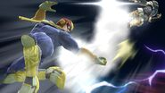 Captain falcon back-air