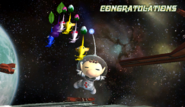 Olimar Congratulations Screen All-Star Brawl