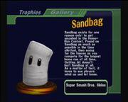 Sandbag melee