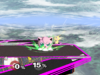 Jigglypuff Forward throw SSBM