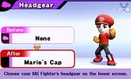 Mii Fighter (Mario's Cap)